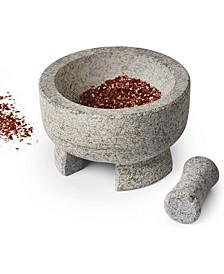 Mortar and Pestle Granite Stone Molcajete