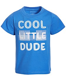 Baby Boys Cool Little Dude Cotton T-Shirt, Created for Macy's