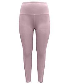 High-Waist Side-Pocket Leggings, Created for Macy's