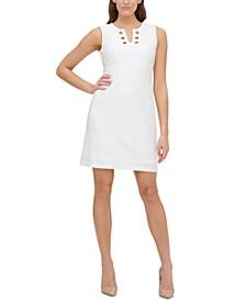 Avy Textured Embellished Dress