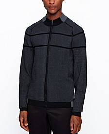 BOSS Men's Zogor Regular-Fit Cardigan