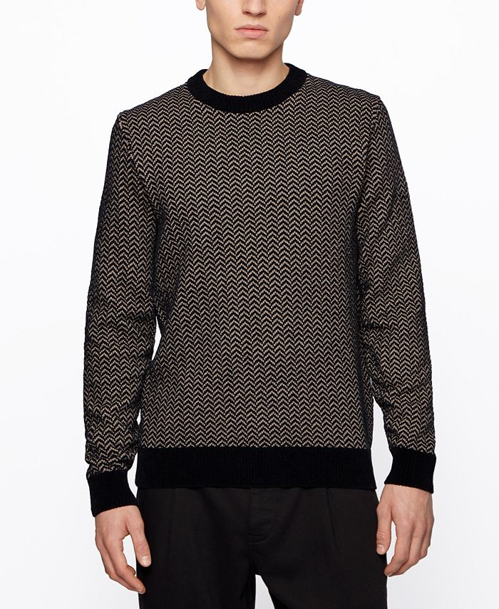 Hugo Boss - Men's Kafurlio Regular-Fit Sweater