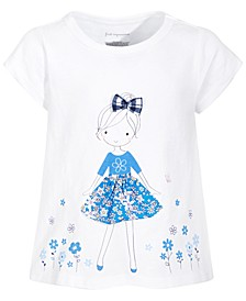 Toddler Girls Graphic Cotton T-Shirt, Created for Macy's