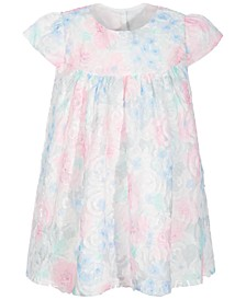 Toddler Girls Floral Rosette Dress Set, Created for Macy's
