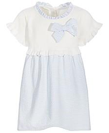 Toddler Girls Seersucker Dress Set, Created for Macy's