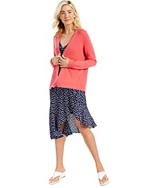 Cashmere Open-Front Cardigan, Created for Macy's