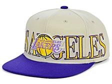 Los Angeles Lakers Hardwood Classic Winners Circle Snapback Cap