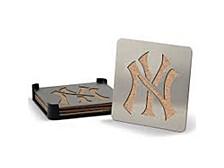 New York Yankees Boaster Drink Coasters, Set of 4