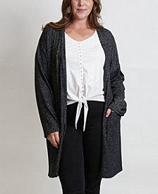 Women's Plus Size Cozy Cardigan