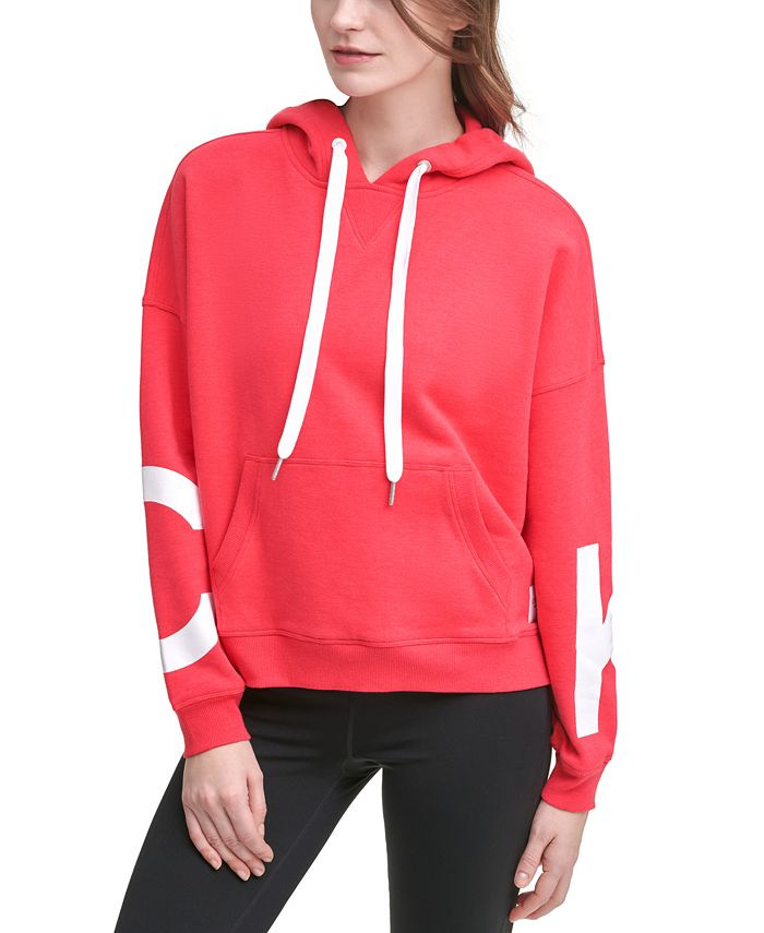 Calvin Klein - Jumbo-Logo Fleece Hoodie