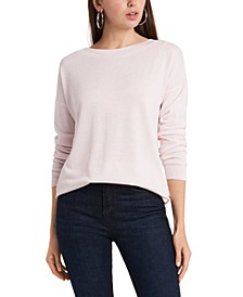 Dropped-Shoulder Cross-Back Sweatshirt