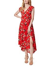 Gabbie Floral-Print Midi Dress