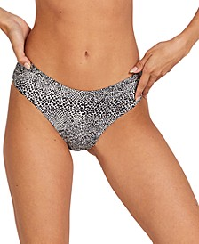 Juniors' Coco Cheeky Bikini Bottoms