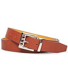 Logo-Buckle Reversible Belt