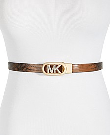 20MM Leather Reversible Embossed Belt