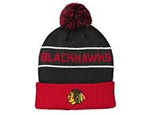 Youth Chicago Blackhawks 2020 Rinkside Pom Knit Hat