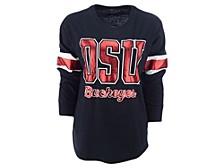 Women's Ohio State Buckeyes Backfield 2 Long-Sleeve T-Shirt