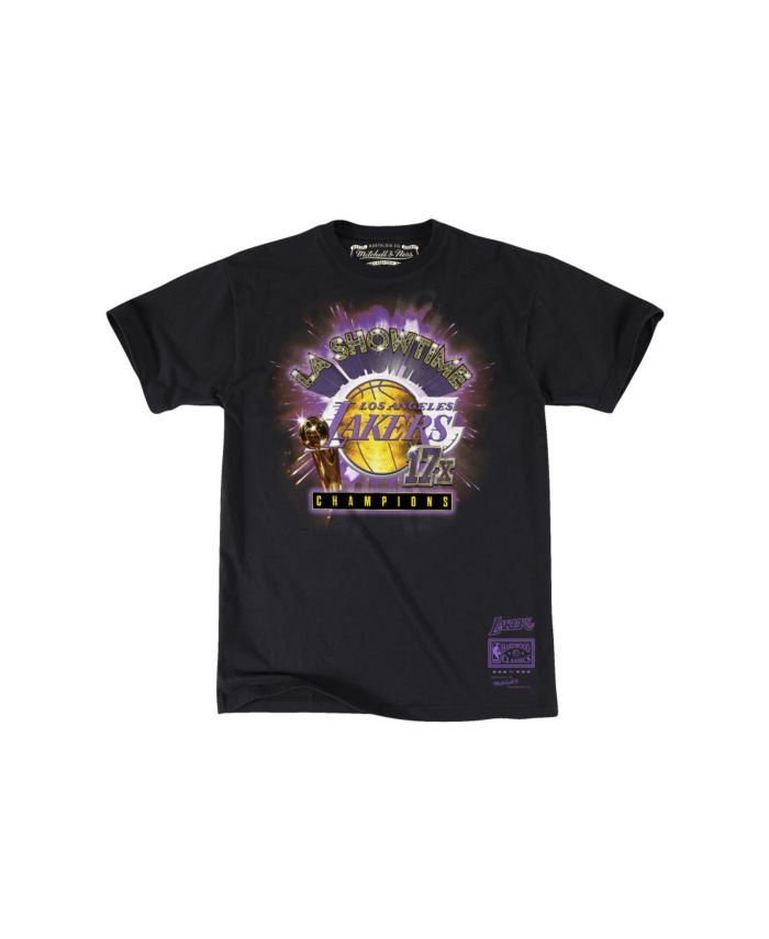 Mitchell & Ness Men's Los Angeles Lakers Showtime Collection T-Shirt & Reviews - NBA - Sports Fan Shop - Macy's