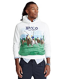 Men's Polo Match Fleece Hoodie