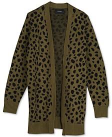 Leopard Mid-Length Cardigan