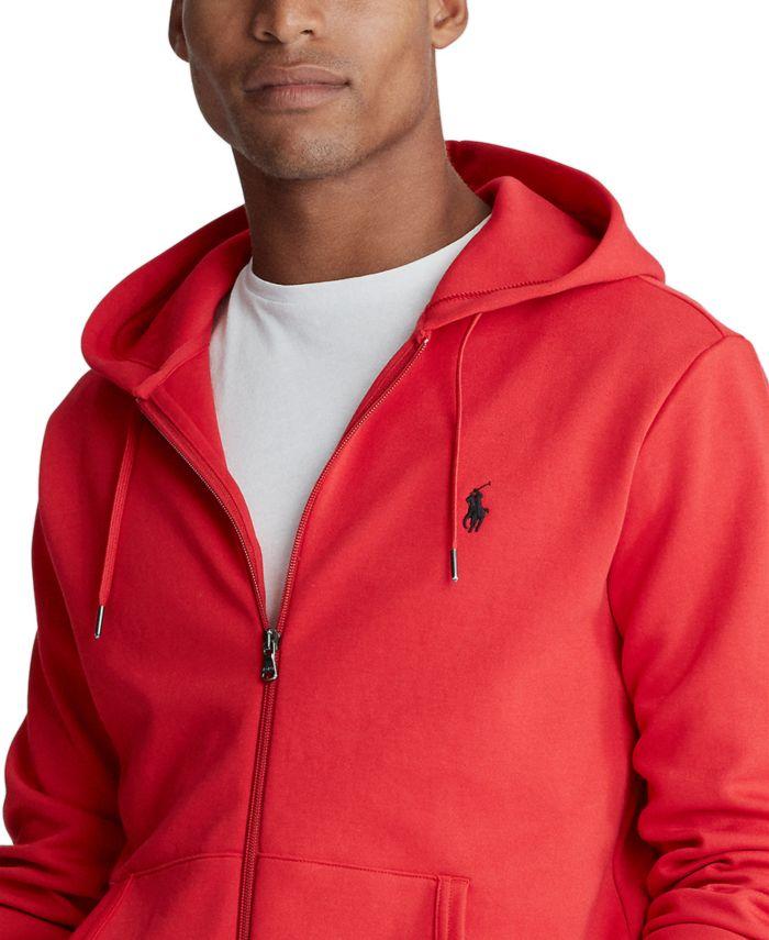 Polo Ralph Lauren Men's Big & Tall Double-Knit Full-Zip Hoodie & Reviews - Hoodies & Sweatshirts - Men - Macy's