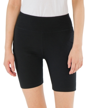 Juniors' High-Rise Biker Shorts