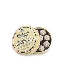 Sea Salt Milk Chocolate Truffles, 10 Pieces