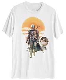 Mando with Child Men's Short Sleeve Graphic T-shirt