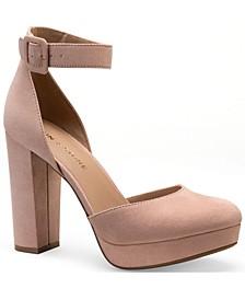 Estrella Block-Heel Pumps, Created for Macy's