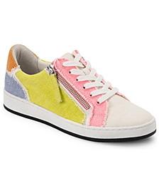 Miya Lace-Up Zip Sneakers