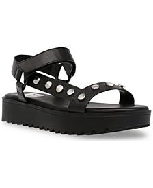 Eman Studded Sport Sandals