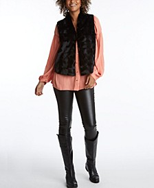 Women's Sherpa Vest Jacket