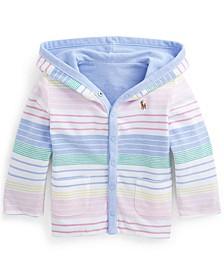 Ralph Lauren Baby Boys Reversible Mesh Hooded Jacket