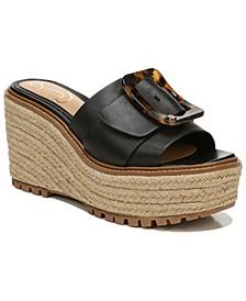 Women's Livi Buckle Wedge Sandals