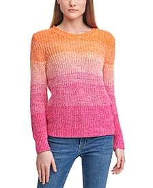 Cotton Ombré Sweater