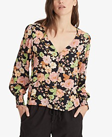 Harmony Floral-Print Top