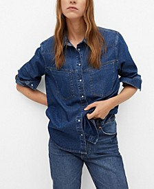 Women's Cotton Denim Shirt