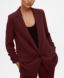 Women's Flap Pockets Blazer