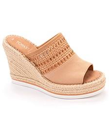 Monica Platform Espadrille Wedge Sandals