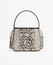 Women's Snake Print Bag
