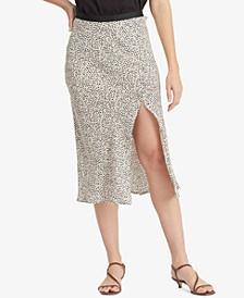 Good Times Dot-Print Midi Skirt