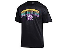 Northwestern Wildcats Men's Neon Vault Arch & Logo T-Shirt