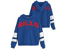 Buffalo Bills Women's Sideline Striped Fleece Hoodie