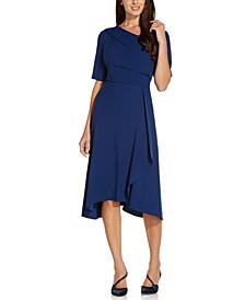 Asymmetrical Draped Dress