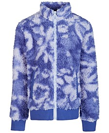 Big Girls Printed Fleece Jacket, Created for Macy's