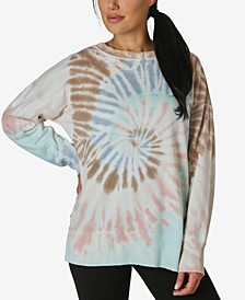 Juniors' Tie Dye Top