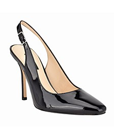 Women's Alison Snip Toe Slingback Pumps