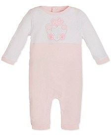 Baby Boys & Girls Colorblocked Logo Cotton Coverall