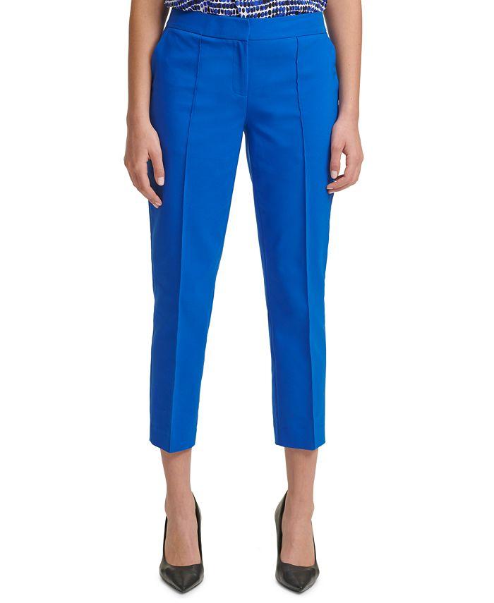 Calvin Klein - Slim-Leg Ankle Pants