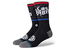 Los Angeles Clippers City Edition Crew Socks